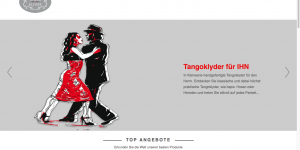 Screenshot tangoklyder.de